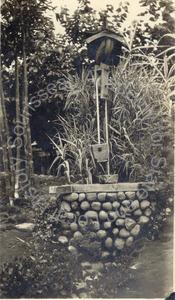 Image of Well in the George T. Marsh Japanese Garden, Coronado