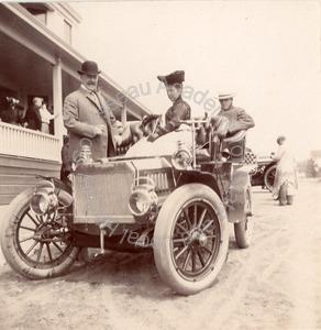 Image of George B., Jennie and Charles B. Polhemus