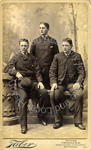 Image of Portrait of George A. Pope, William H. Talbot and Frederick C. Talbot