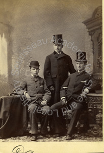 Image of Portrait of George A. Pope, William H. Talbot and possibly Earle Talbot