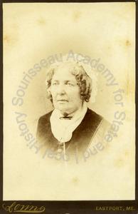 Image of Portrait of Ruth Jones Hayden Foster, Sophia Gleason Foster Talbot's mother