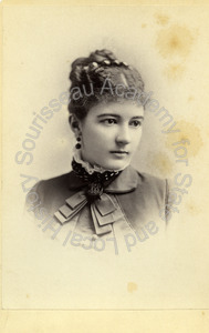 Image of Portrait of Florence Talbot Pope